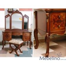 Туалетный стол Флоренция с зеркалом